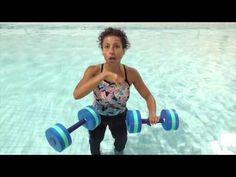 Aqua Instructor tip #3 Cross Country Ski - YouTube