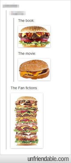 the book...the movie...the fanfiction