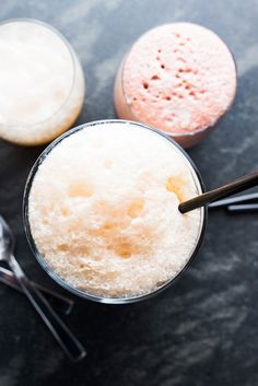 Boozy Soda Floats 4 tipsy combinations for fizzy ice cream floats As we countdown to summer and set our sights on the warmer days ahead, there are few things on our minds other than frozen treats and frosty beverages. So we thought, Why not add a nip of booze to these summertime favorites while we're at it? Nothing better to hit all those cravings at once than boozy ice cream soda floats