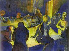 Gerard Sekoto (1913-1993) - The Shebeen, Sophiatown