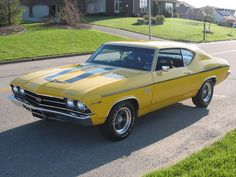 1969 Chevrolet Chevelle Pictures: See 200 pics for 1969 Chevrolet Chevelle. Browse interior and exterior photos for 1969 Chevrolet Chevelle. Chevy Chevelle Ss, Chevelle Ss For Sale, Chevrolet Ss, Chevy Impala, Muscle Cars Vintage, 70s Muscle Cars, Modern Muscle Cars, Custom Muscle Cars, Vintage Cars