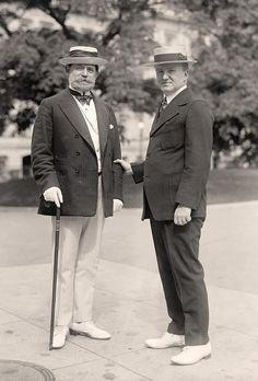 1910. Dapper moustaches all around