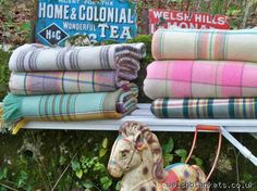 Carthenni Vintage Welsh Blankets