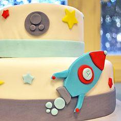 Space Birthday Party  | Space Cake | MyRecipes.com