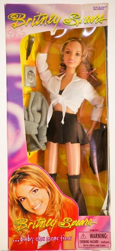 Amazon.com: Britney Spears...Baby one more time 1999: Toys & Games