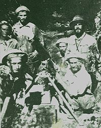 """The Chaco War (1932–1935) (Spanish:Guerra del Chaco) was fought between Bolivia and Paraguay over control of the northern part of the Gran Chaco region (known as Chaco Boreal) of South America, which was thought to be rich in oil. It is also referred to as La Guerra de la Sed (Spanish for """"The War of the Thirst"""") in literary circles for being fought in the semi-arid Chaco. The war was the bloodiest military conflict fought in South America during the 20th century."""