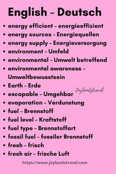German Grammar, German Words, Learn English Words, German Language Learning, Language Study, English Writing Skills, English Lessons, Education English, Teaching English