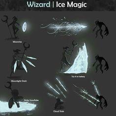 ArtStation - Spell effects concept art, Kevin Wick - Kunst Fantasy Character Design, Character Design Inspiration, Character Concept, Character Art, Character Sketches, Armes Concept, Concept Art Landscape, Art Magique, Elemental Powers