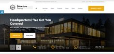 Here are some of the best construction company WordPress themes 2017 for building, contractor, architect or business related websites. New Shop, Green Building, Wordpress Theme, Construction, Building