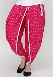 Stylish Pink Dhoti Pant