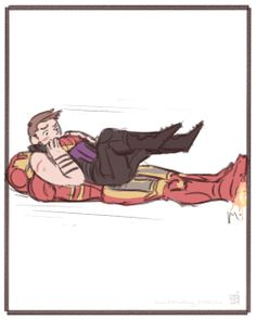 The time Clint fell off something. (Art by yummidoesnothing) Hawkeye Avengers, All Avengers, Superhero Humor, Graphic Novel Art, Clintasha, Marvel Costumes, Mundo Geek, Marvel Fan, Marvel Memes