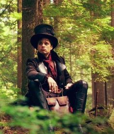 The Mad Hatter...and yes I went to the same school as the actor who plays him (Sebastian Stan)