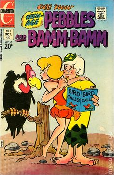 The Pebbles and Bamm-Bamm Show | Pebbles and Bamm-Bamm (1972 Charlton) comic books