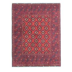Authentic Afghan Rug