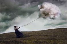 German photographer Katharina Jung uses her camera and masterful photo manipulation to create otherworldly scenes of strange beauty. Although she's only been pursuing photography since. Surrealism Photography, Conceptual Photography, Fine Art Photography, Surreal Photos, Surreal Art, Surreal Portraits, Fantasia Marilyn Monroe, Philippe Soupault, Instagram Inspiration