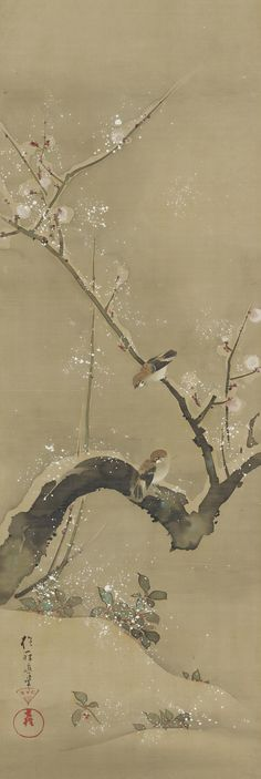 Sakai Hoitsu Birds and Flowers of the Twelve Months