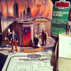 1980 Sears Exclusive Empire Strikes Back Cloud City Playset