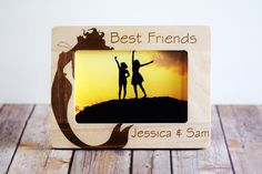 Hey, I found this really awesome Etsy listing at https://www.etsy.com/listing/191265604/best-friends-frame-personalized-photo