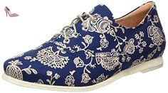 Think Shua, Derby Femme, Bleu (Blau/Kombi 94), 42 EU - Chaussures think (*Partner-Link)