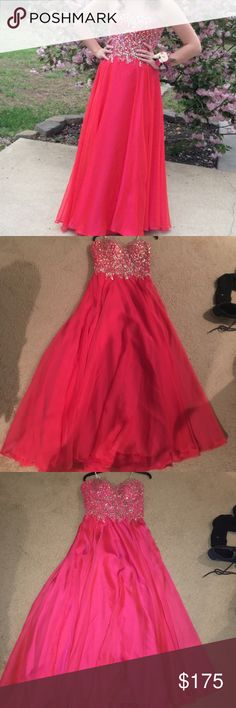 Prom Dress :) Gorgeous pink dress perfect for any prom :) Dresses Prom