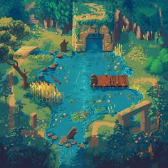 Retronator's Favorite Pixel Art Illustrations 2017 My favorite pixel art illustrations of 2017 from Pixel Joint and DeviantArt. Mystik Belle title art by Andrew Bado a. Kawaii Disney, Art Kawaii, Art Disney, Game Design, How To Pixel Art, Arte 8 Bits, Ps Wallpaper, Pixel Art Background, 8bit Art