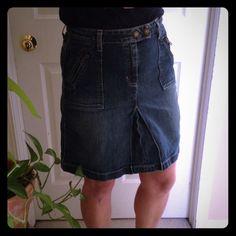 Gap Denim Skirt Cute size 6 gap jean skirt GAP Skirts