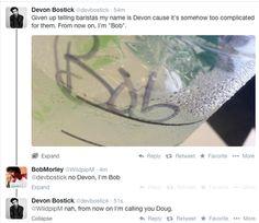 I'm Bob    Devon Bostick (Jasper Jordan) and Bob Morley (Bellamy Blake) on twitter    The 100 cast