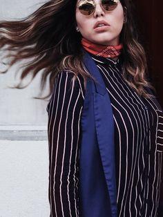 Pantalones de Zara-Blusa Zara-Chaleco Zara-Pañuelo Vintage-Sandalias Aishop-Cartera Forever 21-Lentes Trendy Bejuma