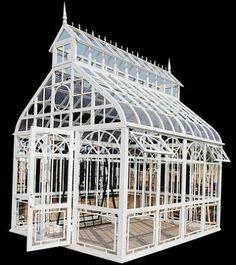 details zu wintergarten orangerie jugendstil pavillon. Black Bedroom Furniture Sets. Home Design Ideas
