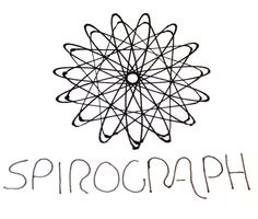 #30DOC Day 10: Playing with my old spirograph!