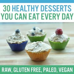 Healthy desserts do exist! You just need to think outside the box to come up with healthy dessert ideas. And when it comes to healthy dessert rec ...