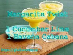 https://beckystevens.scentsy.us Margarita Twist = 1 cube Cucumber Lime + 1 cube Havana Cabana
