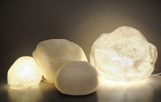 Moon Rock Lamps — ACCESSORIES -- Better Living Through Design