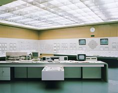 Vienna-based photographer Daniel Gebhart de Koekkoek takes us inside the Zwentendorf Nuclear Power Plant Nuclear Power, Interior Photography, Architectural Photography, Its A Wonderful Life, Interior Architecture, Corner Desk, Photos, Building, Kitchen