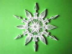 Printable Quilling Patterns | Giant Beautiful Holiday Snowflake - Quilled Creations Quilling Gallery