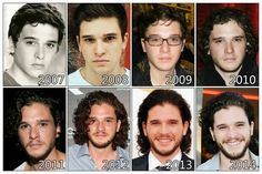 Kit Harington has become happier the older he gets :D