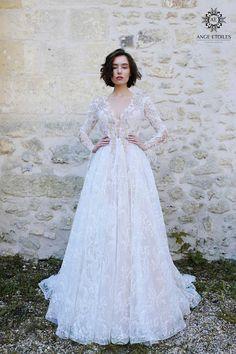 Wedding dress OLIVIA long sleeve wedding dress boho wedding