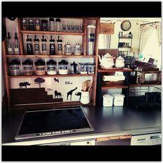 「meetsアニマルウォールステッカー」 「ブログ更新しました♡」 「インダストリアル」...etcのインテリア実例写真 yupinokoさんのお部屋 at 2014-08-30 04:10:12 | RoomClip(ルームクリップ)