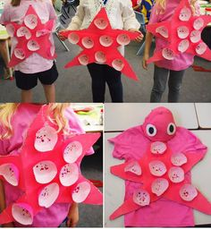 This site has a number of sea-inspired DIY costumes, including this cute star fish! #halloween #SeaWorldSpooktacular #DIYcostume #starfish