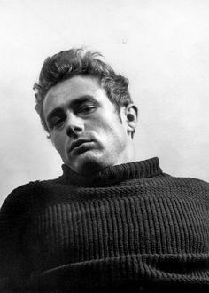 """ James Dean photographed by Roy Schatt, 1954. """