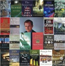 Anything by John Grisham c: