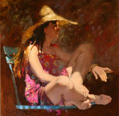 Kai Fine Art is an art website, shows painting and illustration works all over the world. Painting Collage, Light Painting, Figure Painting, Painting & Drawing, Woman Painting, Portraits, Portrait Art, Fine Art Photo, Photo Art