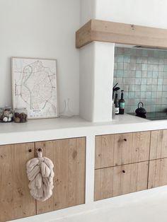 Concrete Kitchen, Wooden Kitchen, Rustic Kitchen, Kitchen Decor, Casa Top, My New Room, Interior Design Kitchen, Home Kitchens, Kitchen Remodel