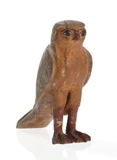 Statuette of a Horus Hawk, Egypt, Late Ptolemaic Period Alexander The Great, Old Master, Tribal Art, Face Art, Islamic Art, Online Art, Green Colors, Art History, Egyptian