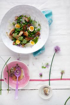 I need this fresh, spring salad in my life.    image and recipe by Aran Goyoaga of Cannelle et Vanille     http://www.lds.org/friend/2001/05/the-sermon-on-the-mount?lang=eng=sermon+mount