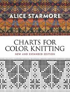 Charts for Color Knitting  New and Expanded    by Alice Starmore