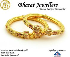 100% 22k #Hallmark #GoldJewellery! Check Out Our Amazing Collection At Our Showroom. Visit Us Now!