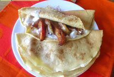 Pancake farciti mela e cannella, Mangia senza Pancia