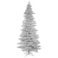 7.5ft Pre-Lit Led Artificial Christmas Tree Parkview Pine ...