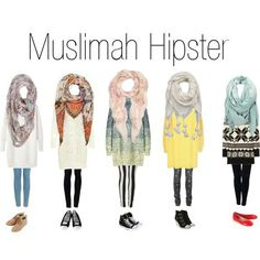 Hijab fashion - Somehow, give it a try.